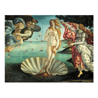 Botticelli - Birth of Venus Postcard