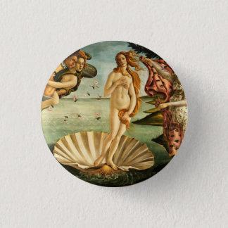 Botticelli Birth Of Venus Renaissance Art Painting 3 Cm Round Badge