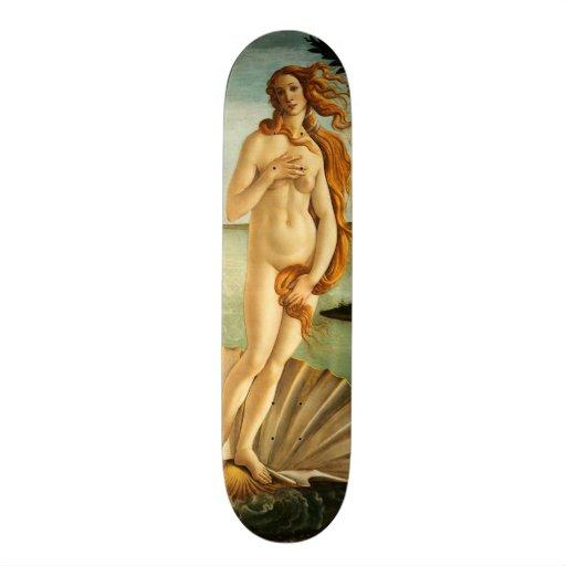Botticelli Birth Of Venus Renaissance Vintage Art Skateboard Decks