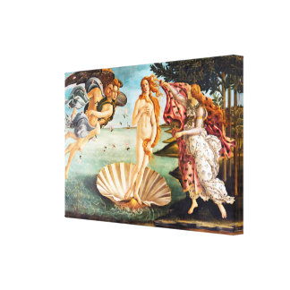 Botticelli Birth of Venus Restored Recolored Canvas Print