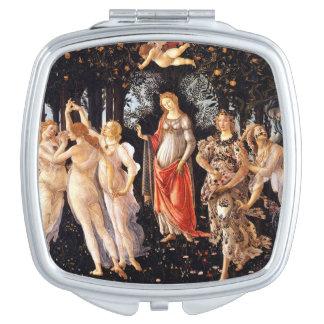 BOTTICELLI -Primavera 1482 Mirrors For Makeup