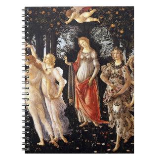 BOTTICELLI -Primavera 1482 Notebooks