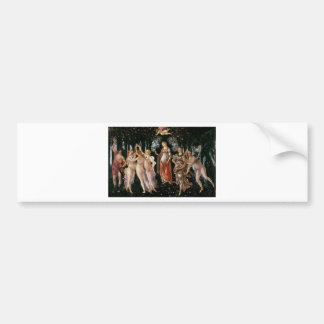 Botticelli-primavera Bumper Sticker