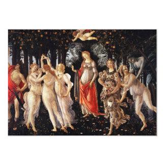 """Botticelli Primavera Invitations 5"""" X 7"""" Invitation Card"""