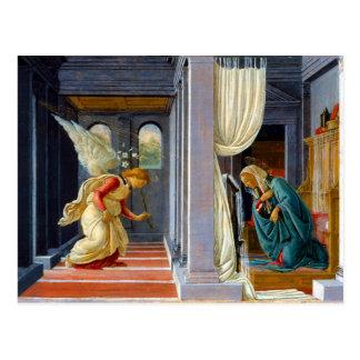 Botticelli The Annunciation Postcard