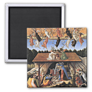 Botticelli: The Mystical Nativity Magnet