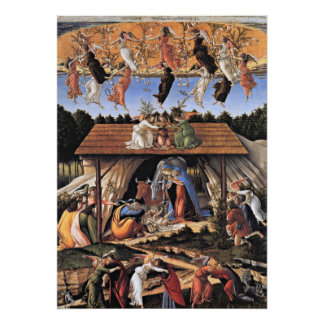 Botticelli: The Mystical Nativity Poster