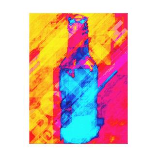 Bottle 10 Cents Canvas Print