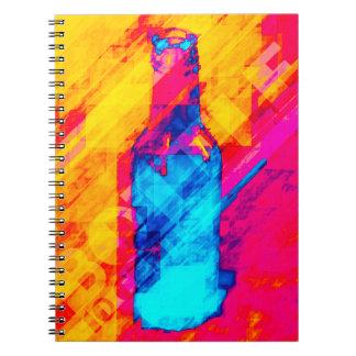 Bottle 10 Cents Spiral Notebook