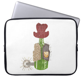 Bottle Cowboy 15 Inch Laptop Sleeve
