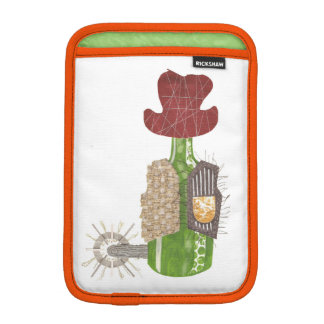 Bottle Cowboy I-Pad Mini Sleeve