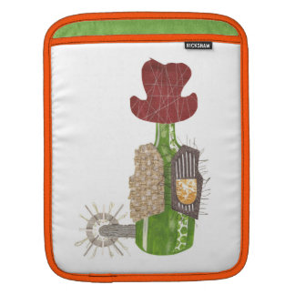 Bottle Cowboy I-Pad Sleeve