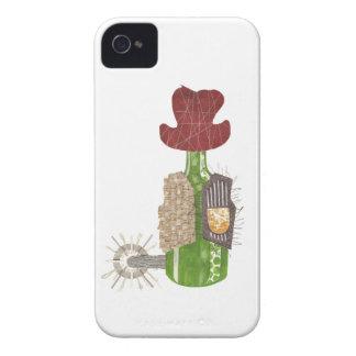 Bottle Cowboy I-Phone 4 Case