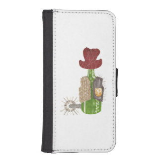 Bottle Cowboy I-Phone 5/5S Wallet Case