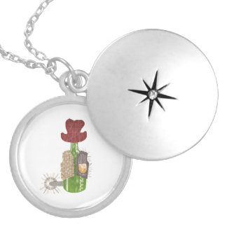 Bottle Cowboy Locket