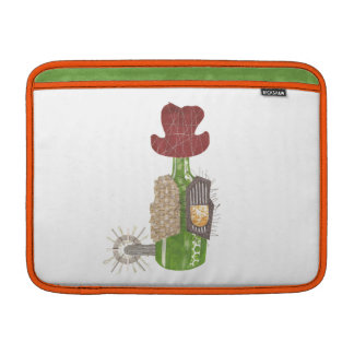 Bottle Cowboy Macbook Air Sleeve