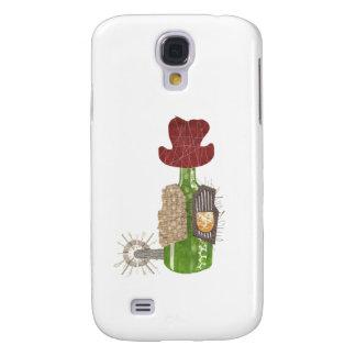 Bottle Cowboy Samsung Galaxy S4 Case