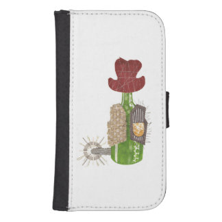 Bottle Cowboy Samsung Galaxy S4 Wallet Case