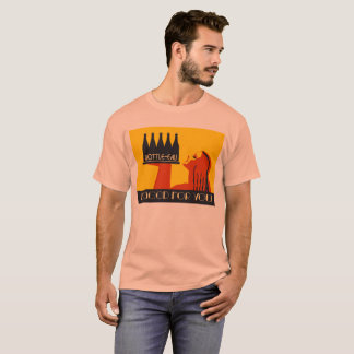 Bottle-eau retro style art deco T-Shirt