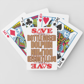 Bottle Nosed Dolphin Save Poker Deck