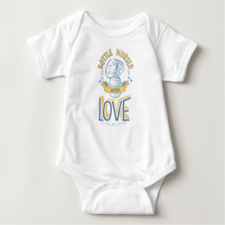 Bottle Nursed with Love Bodysuit Yellow