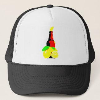 Bottle of Beer and Lemons Trucker Hat