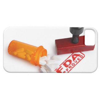 Bottle of Pills and a FDA APPROVED rubber stamp iPhone 5 Case