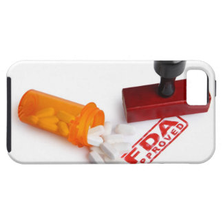 Bottle of Pills and a FDA APPROVED rubber stamp iPhone 5 Covers