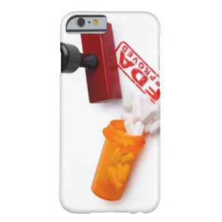 Bottle of Pills and a FDA APPROVED rubber stamp iPhone 6 Case