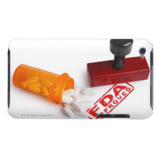 Bottle of Pills and a FDA APPROVED rubber stamp iPod Touch Covers