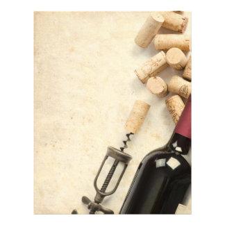 Bottle of Wine 21.5 Cm X 28 Cm Flyer