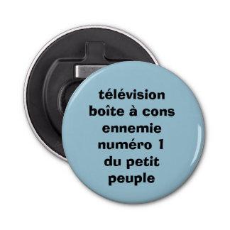 "bottle opener, bottle-opener ""television """