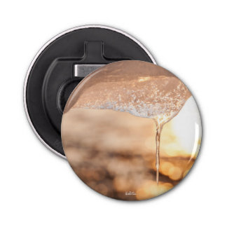 bottle opener magnetized, photo sun of the ice