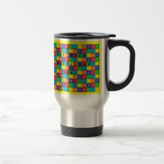BottleCap Fun Stainless Steel Travel Mug