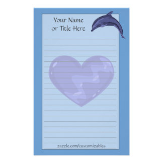 Bottlenose Dolphin Stationery