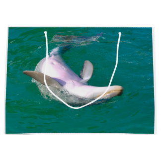 Bottlenose Dolphin Upside Down Large Gift Bag