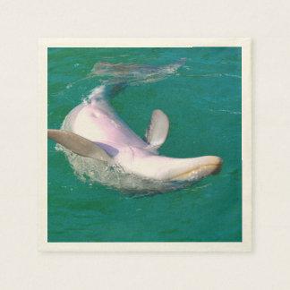 Bottlenose Dolphin Upside Down Paper Serviettes