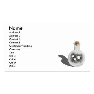 BottleofMotivation111510, Name, Address 1, Addr... Business Card Template