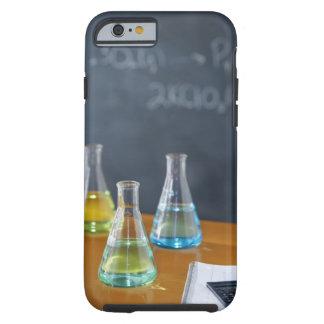 Bottles arranged for science experiment tough iPhone 6 case