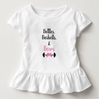 Bottles, Barbells, & Bows Toddler T-Shirt