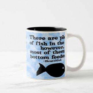 Bottom Feeders Two-Tone Coffee Mug