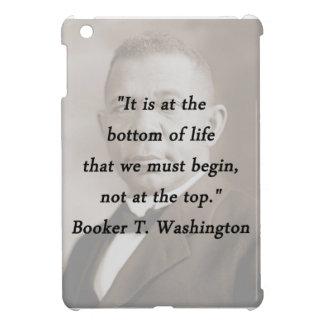 Bottom Of Life - Booker T Washington iPad Mini Cases