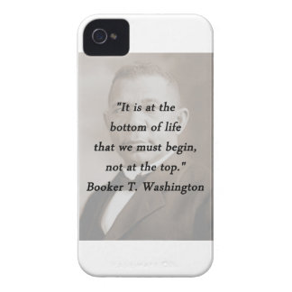 Bottom Of Life - Booker T Washington iPhone 4 Case-Mate Case