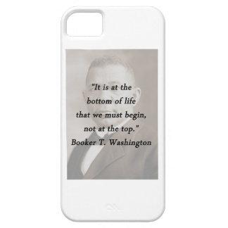 Bottom Of Life - Booker T Washington iPhone 5 Case