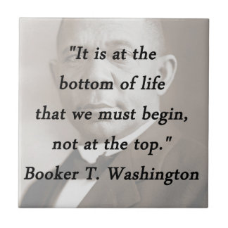 Bottom Of Life - Booker T Washington Tile