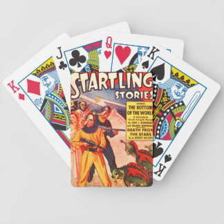 Bottom of the World Bicycle Playing Cards