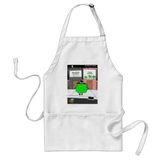 Bottomless Salad Funny Gifts & Collectibles Standard Apron
