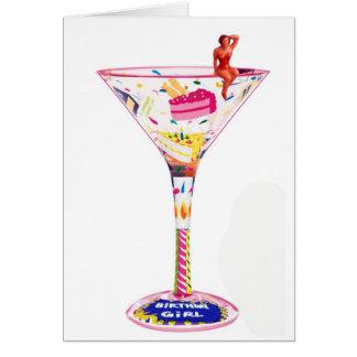 Bottoms Up Card
