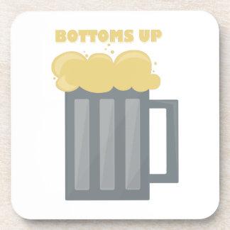 Bottoms Up Beverage Coaster