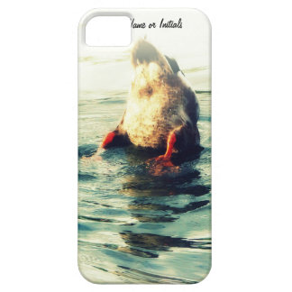 Bottoms UP! Funny Duck Butt Photo iPhone 5 Cover